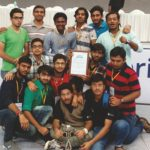 BEST ROOKIE AWARD AT ROBOCON INDIA 2016