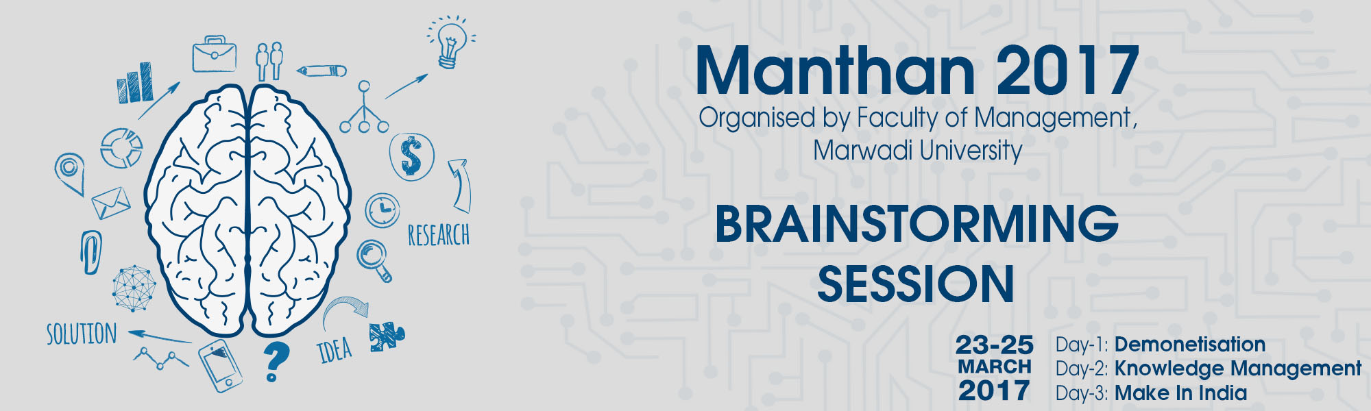 "Marwadi University organizes series of expert lectures under the Brand ""MANTHAN"""