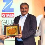 Shri. Ketan Marwadi (Chairman, Marwadi University) received Young Achiever's Award hosted by ZEE 24 KALAK.