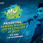 Armaan Malik live in concert at MU