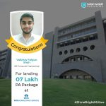 VAIBHAV FALGUN SHAH got placed at TATA CONSULTANCY SERVICES at the package of 07 LPA.