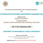 Advanced Approaches for Sustainable Environmental Management (AASEM-2021)
